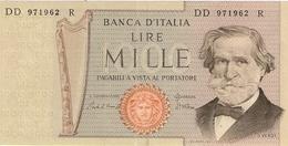 ITALIE  ---  1000 LIRE ( Verdi-- II° TIPO ) DD 971962 R ( Unc ) - 1000 Lire