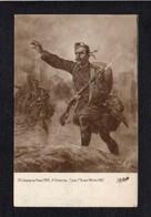 """Art / Peinture,tableau / Salon De Paris 1918 / H. Chartier  """" Loos 1r .Black Watch 1915 """" / Soldat,militaria - Peintures & Tableaux"""