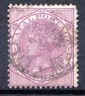 NATAL - (Colonie Britannique) - 1874-80 - N° 32 - 6 P. Violet - (Victoria) - Sud Africa (...-1961)
