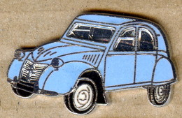 Pin's 2CV CITROËN Bleu EGF N°8 Voiture Automobile - Citroën