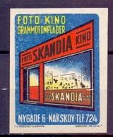 CINDERELLA ERINOFILO GRAMMOFONPLADER FOTO KINO SKANDIA (GIUGN19C00015) - Erinnofilia
