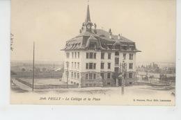 SUISSE - VAUD - PRILLY - Le Collège Et La Place - VD Vaud