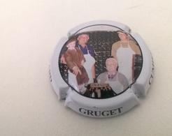 """Plaque De Muselet De Champagne """" Gérard GRUGET - Cumières """" - Andere"""
