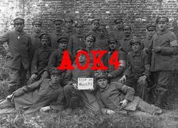 Bayerisches Armierungs Bataillon 5 Armbinde Westfront Nordfrankreich Somme - Guerre 1914-18