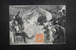 FRANCE - Oblitération Commémorative De La Mort De Napoléon En 1971 Sur Carte Postale - L 37745 - Storia Postale