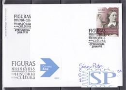 Portugal 2019 Figuras Mundiais Clara Schumann Musica Musique Musik  Madeira Funchal Pianista Pianiste Pianist - Persönlichkeiten