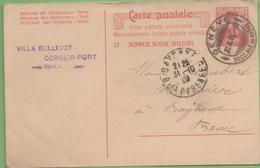 Suisse 10c Helvetia Entier CP De Genève à Bayonne 30/10/09 - Ganzsachen
