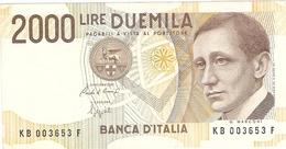 ITALIE  ---  2000 LIRE  1990 ( Unc ) - [ 2] 1946-… : République