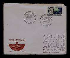 ANTOINE BECLERE 1856-1939 Fdc Foundateur Radiologie France Médecine Santé Health Sp5970 - Medicine