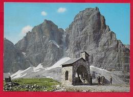 CARTOLINA VG ITALIA - DOLOMITI DI BRENTA (TN) - Chiesetta Dei Brentei - Cima Tosa - 10 X 15 - 1986 - Trento