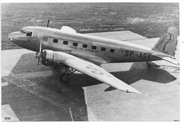 """4 Photos DOUGLAS DC-2 ...compagnie Polskie Linje Lotnicze """"Lot"""".. (3 ASK)(1 ASL) Embleme Sur Le Gouvernail.. - Aviation"""