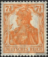German Empire 99a With Hinge 1916 Germania WZ 1 / Supplement-Values - Deutschland