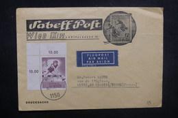 AUTRICHE - Enveloppe Illustrée,  De Wien Par Avion Pour La France En 1970 , Affranchissement Plaisant - L 37751 - 1961-70 Briefe U. Dokumente