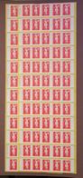 SAGEM - ERREUR De Date 24.19.83 Au Lieu De 24.10.94 En BANDE De 6 Carnets - YT 2874-C4c - RRR - Usage Courant