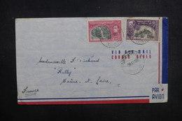 TRINITÉ ET TOBAGO - Enveloppe De Pointe à Pierre Pour La France En 1946, Affranchissement Plaisant - L 37755 - Trinidad & Tobago (...-1961)