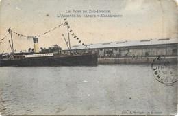 Zeebrugge NA11: Le Port De Zee-Brugge. L'Arrivée Du Vapeur Mellifont 1907 - Zeebrugge