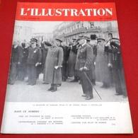 WW2 L'Illustration N°5111 Février 1941 Entrevue Pétain Franco à Montpellier,Urbanisme Parisien Ilôt Insalubre N°16 - Journaux - Quotidiens