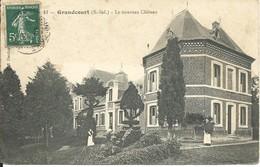 GRANDCOURT : Le Nouveau Château 1909 - France