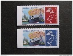 """Nouvelle-Calédonie: Paire N° 1291/1292 """" 70 ° Salon Philatélique D'Automne, Paris Du 03 Au 06 Novembre 2016"""", Neufs XX . - Unused Stamps"""