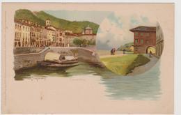Cannobio (VB)  , Illustrata Da Prosdocimi, Della Serie N° 1064  - F.p. -  Primi Anni '1900 - Verbania