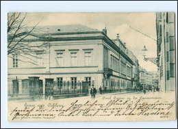 U7894/ Koblenz  Civil Casino In Der Casinostr. Kasinostraße AK 1901 - Deutschland