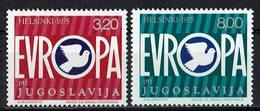 Jugoslawien 1975 // Mi. 1617/1618 ** - 1945-1992 Sozialistische Föderative Republik Jugoslawien
