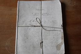 Important  Ensemble De Cahier Manuscrit  XIX?  Histoire De France - Manuscritos