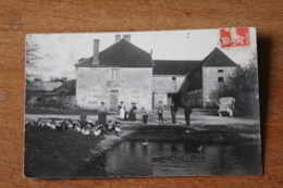 Carte Photo  Ferme Vers 1910    Yonne  Par  Durand Photographe à Tonnerre - Altri Comuni