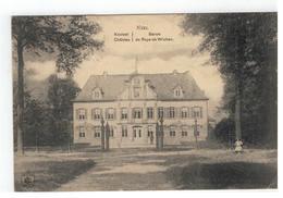 NIEL Kasteel  Château Baron De Roye De Wichen 1917 Feldpost - Niel