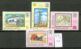 SWAZILAND - 331/4  UPU  Kpl.Ausg. Postfrisch - Swaziland (1968-...)
