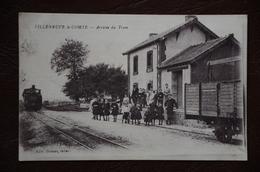 VILLENEUVE LE COMTE Arrivée Du Tram  Gare édit DUMAS - France