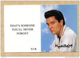 Elvis Presley - Carte De Membre Du Fan Club 1985 - Autres