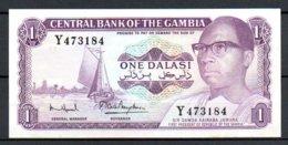 329-Gambie Billet De 1 Dalasi Y473 Sig. 7 - Gambie