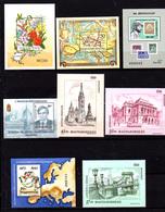Hongrie 1993, Vues De Budapest, Blocs, 3437 / 3437**, BF Entre 224 Et 229**, Cote 28 €, - Hungary