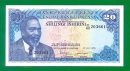Kenya 20 Shillings 1978 P17 UNC - Kenia