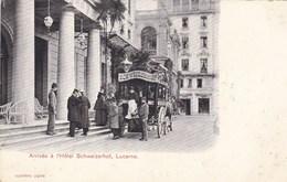 Suisse - Arrivée à L'Hôtel Schweizerhof, Lucerne - LU Lucerne