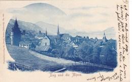 Suisse - Zug Und Die Alpen - LU Lucerne