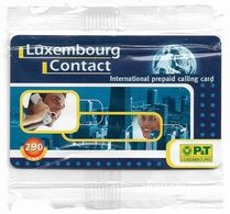 Luxembourg - P&T - Man & Woman Calling - Remote Mem. 7,19€, NSB - Luxemburg