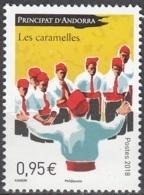Andorre Français 2018 Chansons Les Caramelles Neuf ** - Andorre Français