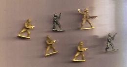 Lot Petites Figurines Militaires - Leger