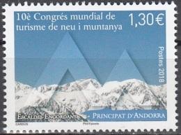 Andorre Français 2018 Congres Du Tourisme De Neige Et De Montagne Neuf ** - Andorre Français