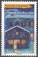 Andorre Français 2018 Légende De La Mare De Déu De Les Neus Neuf ** - Andorre Français