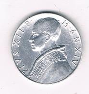 10 LIRE 1952 VATICAN 7080/ - Vatican