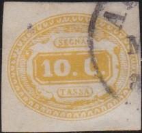 Italia   .     Yvert     .  Taxe  1      .     O       .  Oblitéré       .    /   .   Cancelled - 6. 1946-.. Republic