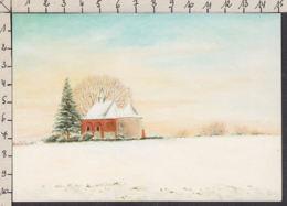 PD165/ Denise DELVAUX, Artiste Belge, *Chapelle De Zetrud-Lumay* - Schilderijen