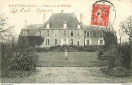 WW 3 Cpa 36 BUZANCAIS. Château De La Brosse, Bords Indre Et Ancienne Filature - France