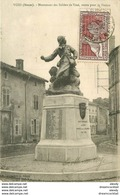 WW 55 VOID. Monument Soldats Morts 1925 - Frankrijk
