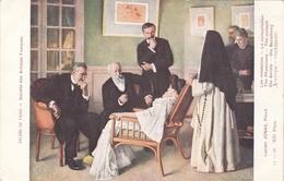 DIE ÄRZTE Die Berathung Künstlerkarte Um 1910 - Künstlerkarten