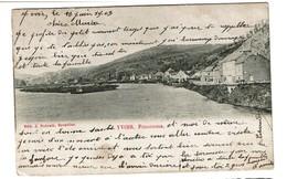 Yvoir - Panorama - Circulée - Edit. J. Nahrath - 2 Scans - Yvoir