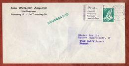 Drucksache, Weltraumlabor, Hamburg Nach Ostfildern 1979 (77424) - BRD